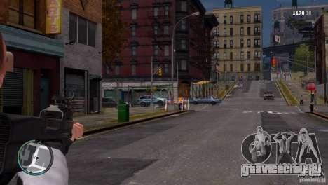 FN P90 для GTA 4 третий скриншот