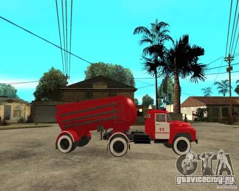 Пожарный автомобиль АВ-6 (130В1) для GTA San Andreas вид справа