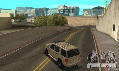 Ford Explorer 2002 для GTA San Andreas колёса
