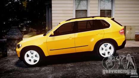 BMW X5 E70 v1.0 для GTA 4 вид слева