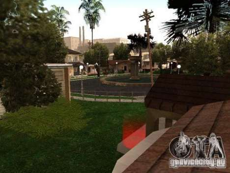 Nev Groove Street 1.0 для GTA San Andreas третий скриншот