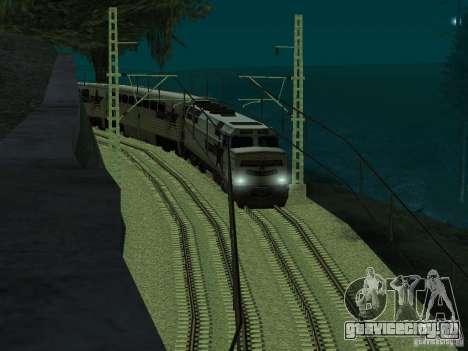 Высокоскоростная ЖД линия для GTA San Andreas четвёртый скриншот