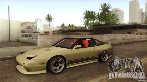 Nissan 240SX S13 Drift Alliance для GTA San Andreas вид сбоку