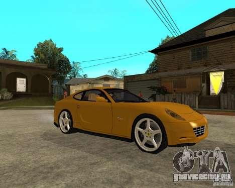 Ferrari 612 Scaglietti для GTA San Andreas вид справа