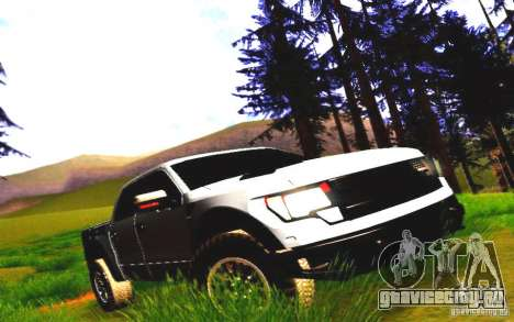 Ford Raptor Crewcab 2012 для GTA San Andreas вид слева