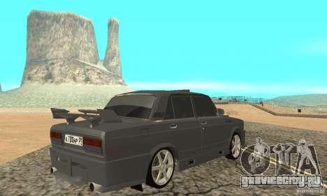 ВАЗ 2105 Night Hunter для GTA San Andreas вид слева