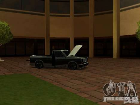 New Tuned Bobcat для GTA San Andreas вид сбоку