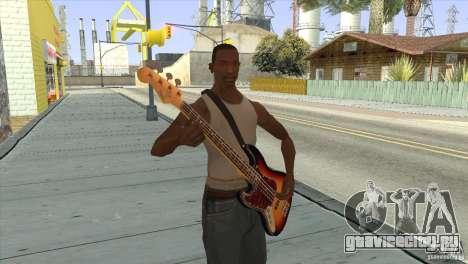Песни группы КИНО на гитаре для GTA San Andreas пятый скриншот
