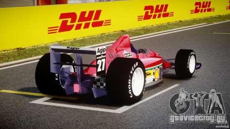 Ferrari Formula 1 для GTA 4 вид сбоку