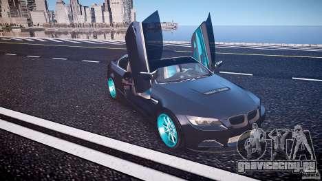 BMW E92 для GTA 4 салон