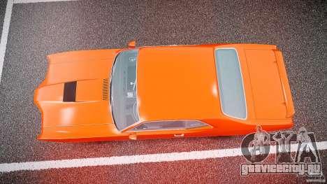 Mercury Cyclone Spoiler 1970 для GTA 4 вид сверху