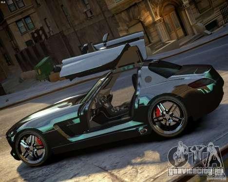 Mercedes SLS Extreme для GTA 4 вид слева