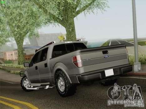Ford F-150 для GTA San Andreas вид сзади слева