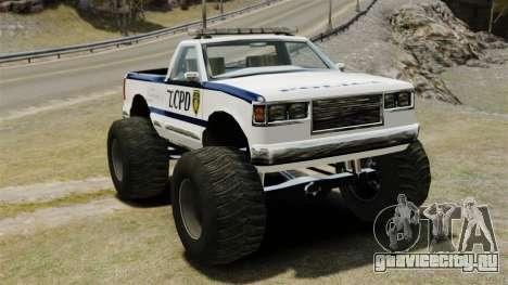 Полицейский Monster Truck ELS для GTA 4