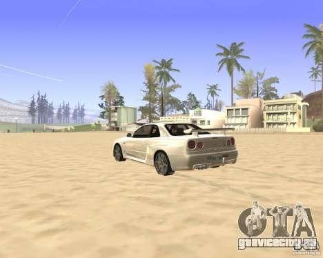 ENBSeries By Krivaseef для GTA San Andreas третий скриншот