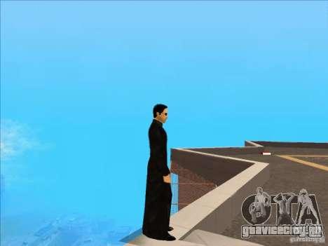 Matrix Skin Pack для GTA San Andreas второй скриншот