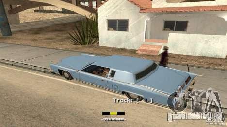 Music car v4 для GTA San Andreas