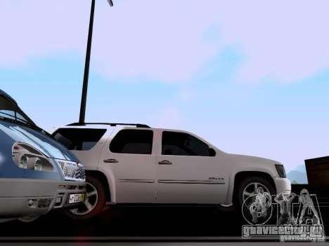 Chevrolet Tahoe LTZ 2013 для GTA San Andreas вид сзади
