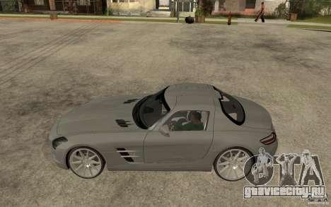 Mercedes-Benz SLS для GTA San Andreas вид слева
