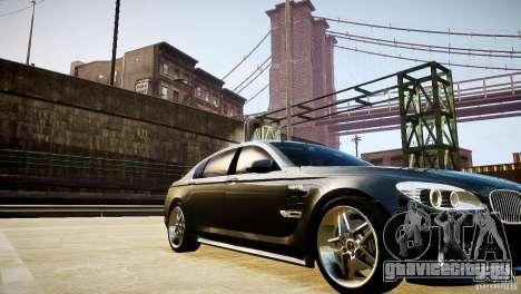 BMW 750Li (F02) Hamann 2010 v2.0 для GTA 4 вид сверху