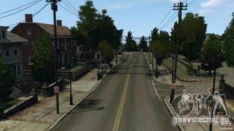 Пустой город для GTA 4 четвёртый скриншот
