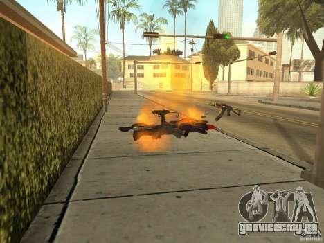 Отечественное оружие - версия 1.5 для GTA San Andreas пятый скриншот