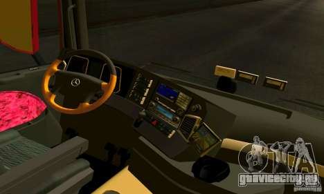 Mercedes-Benz Actros 2012 для GTA San Andreas вид справа