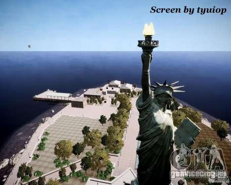 New Statue of Liberty для GTA 4 третий скриншот
