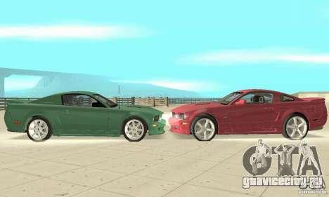 Saleen S281 v2 для GTA San Andreas вид слева