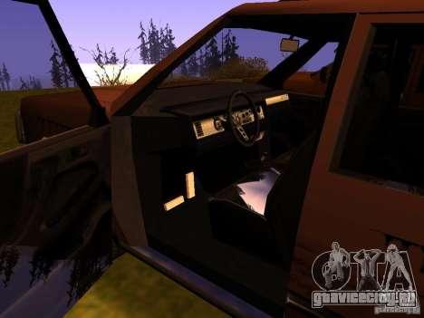 Mountainstalker S для GTA San Andreas вид сверху