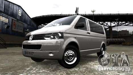Volkswagen T5 Facelift для GTA 4