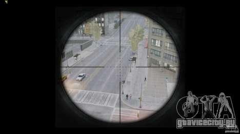 RSASS из MW3 (снайперка) для GTA 4 пятый скриншот