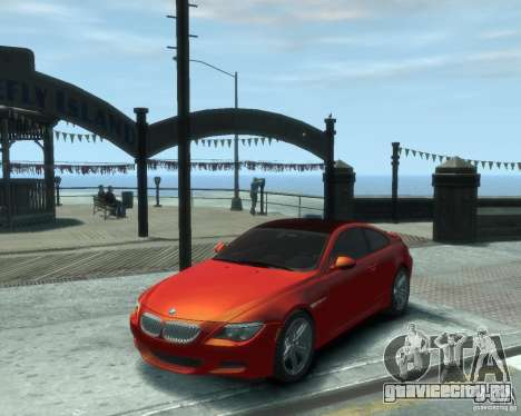 BMW M6 2010 v1.1 для GTA 4