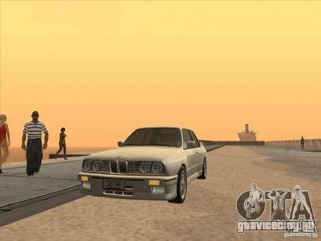 BMW M3 E30 1991 для GTA San Andreas вид справа