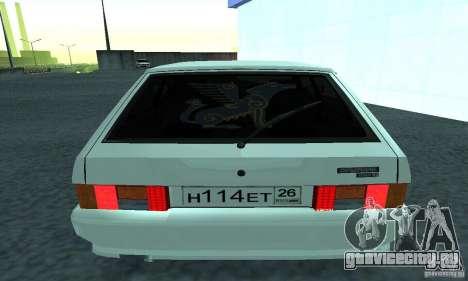 VAZ-2114 для GTA San Andreas вид сзади слева