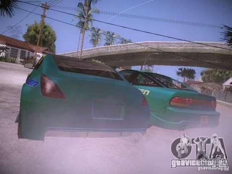 Nissan 200SX Falken Tire для GTA San Andreas вид сзади слева