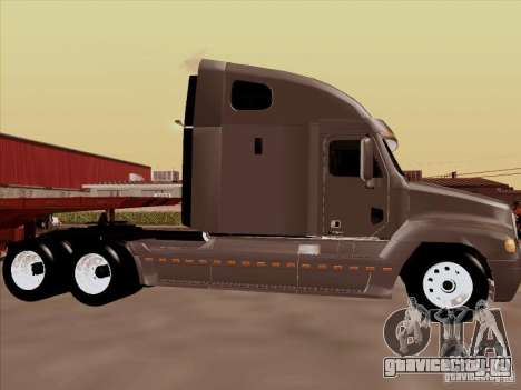 Freightliner Century ST для GTA San Andreas вид сзади слева