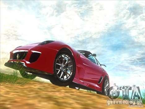Ferrari 599XX для GTA San Andreas вид слева