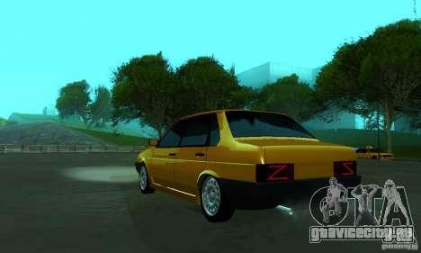 ВАЗ 21099 PROTOCOL для GTA San Andreas вид слева
