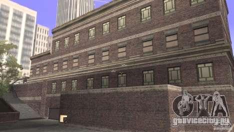 San Fierro Police Station 1.0 для GTA San Andreas второй скриншот