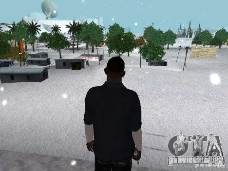 Snow MOD 2012-2013 для GTA San Andreas восьмой скриншот