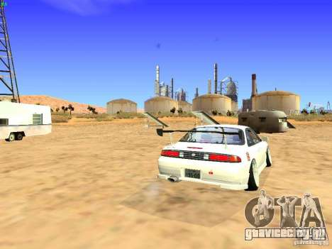 Nissan Silvia S14 JDM для GTA San Andreas вид справа