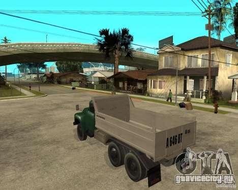 Зил 133 самосвал для GTA San Andreas вид слева