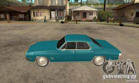 Pontiac LeMans для GTA San Andreas вид слева