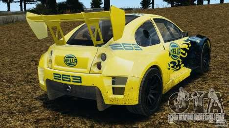 Colin McRae Hella Rallycross для GTA 4 вид сзади слева