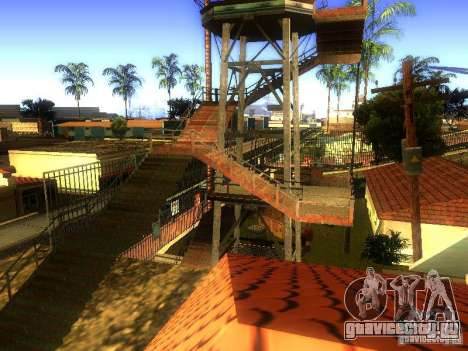 База Гроув стрит для GTA San Andreas десятый скриншот