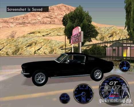 Ford Mustang Fastback для GTA San Andreas вид слева