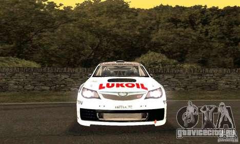 Subaru Impreza WRX STi Russia Rally для GTA San Andreas