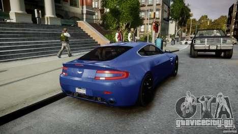 Aston Martin V8 Vantage V1.0 для GTA 4 вид сбоку