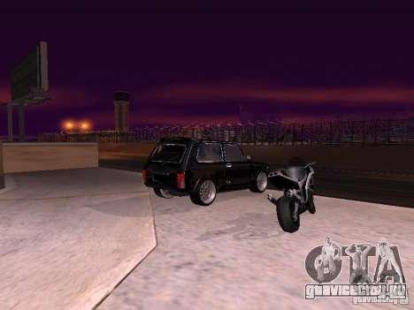 ВАЗ 2121 Tuning для GTA San Andreas вид слева